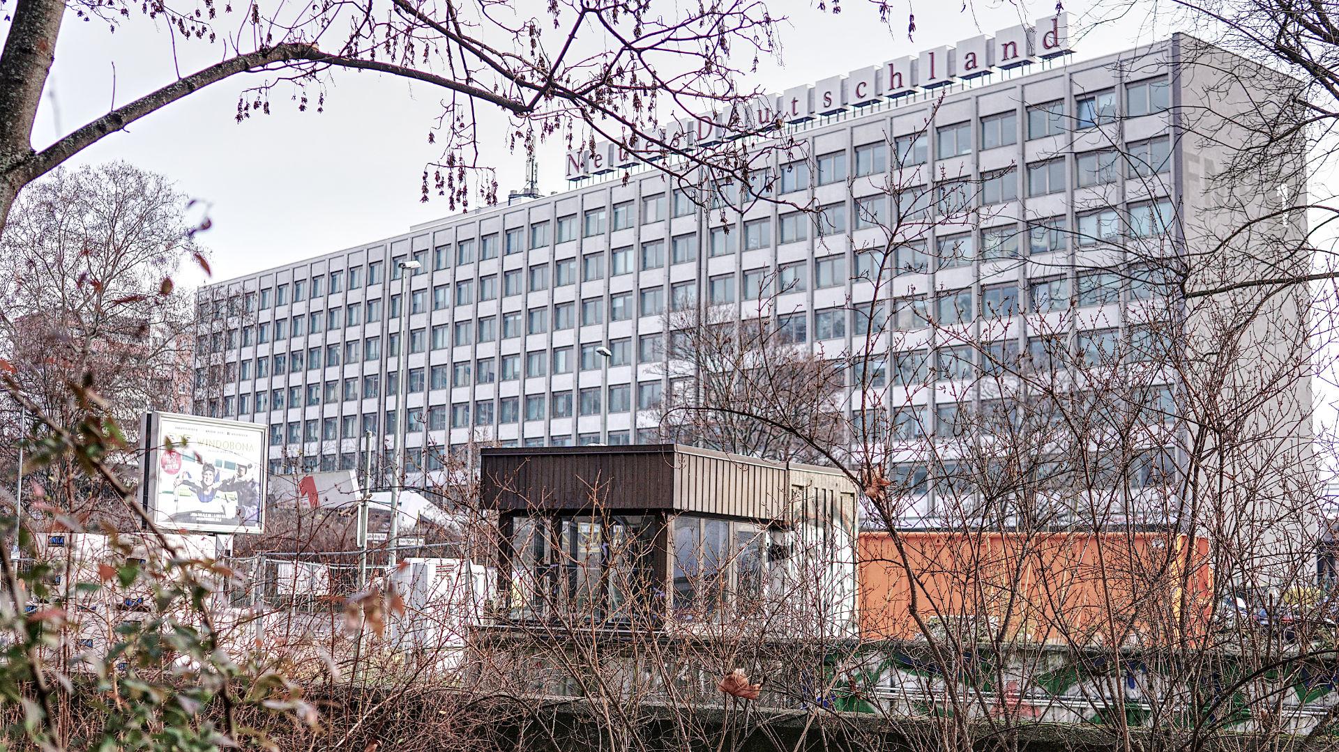 Foto des Aufnahmeortes - hier werden die DDR-Filme verwaltet